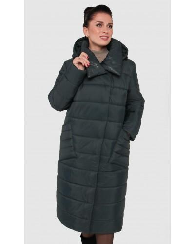 Зимове жіноче пальто ковдра. Модель 234