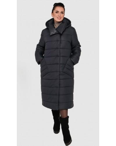 Зимнее женское пальто одеяло. Модель 234.
