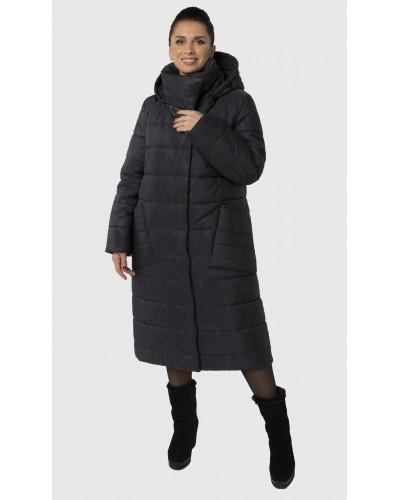 Зимове жіноче пальто ковдра. Модель 235