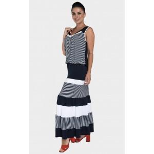 Жіночий літній трикотажний костюм. Модель 242