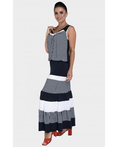 Жіночий літній трикотажний костюм. Модель 242. опт