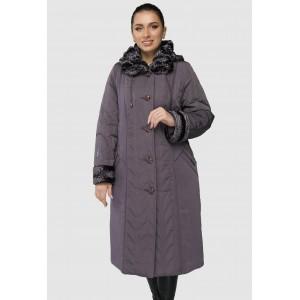 Зимнее женское длинное пальто. Модель 255