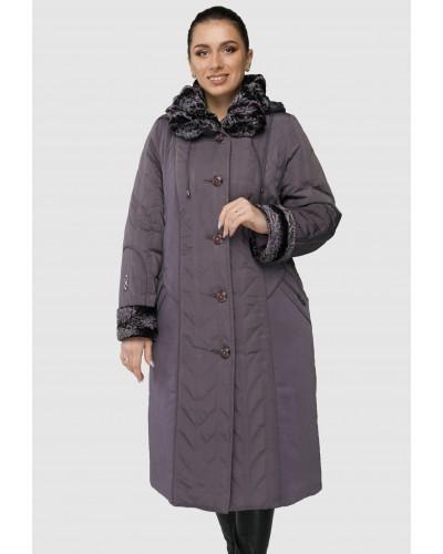 Зимове жіноче довге пальто. Модель 255. опт