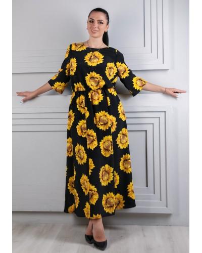 Жіноче  плаття сонячник. Модель 264