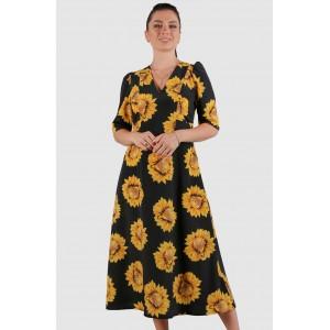 Женское платье подсолнух. Модель 265