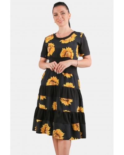 Жіноче  плаття сонячник. Модель 266