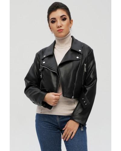 Жіноча коротка куртка косуха. Модель 281.