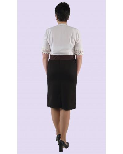Женская трикотажная юбка. Модель 302