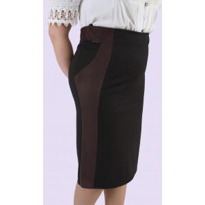 Женская трикотажная юбка. Модель 302. опт