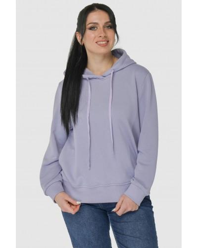 Худи женское фиолет. Модель 310.